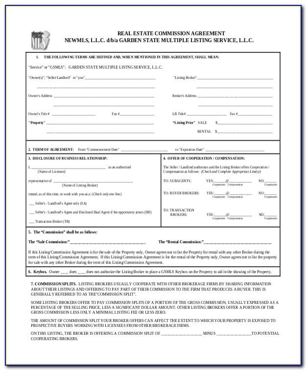 Real Estate Contingency Contract Form
