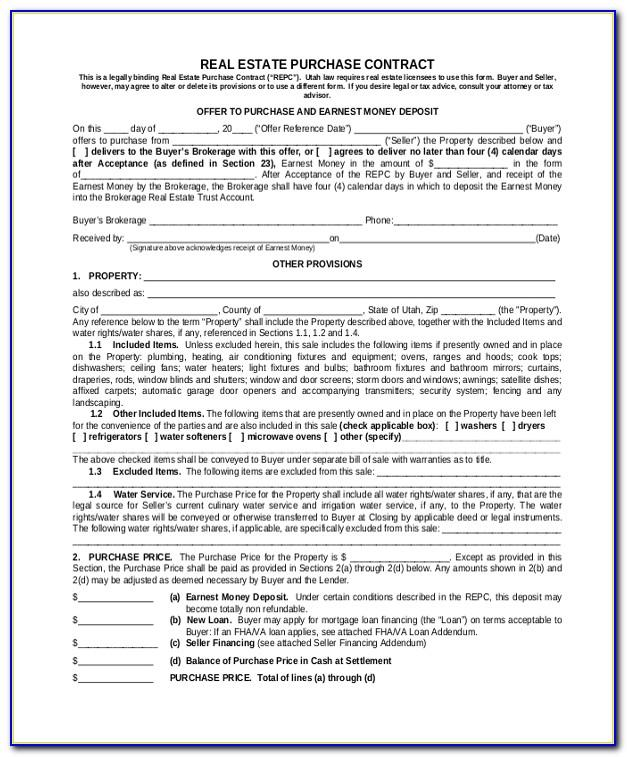 Real Estate Contract Forms Oklahoma