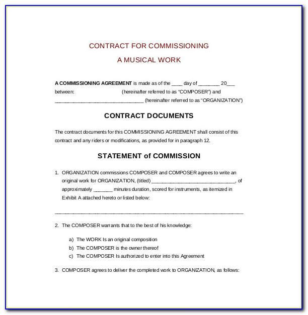 Real Estate Contract Template Texas