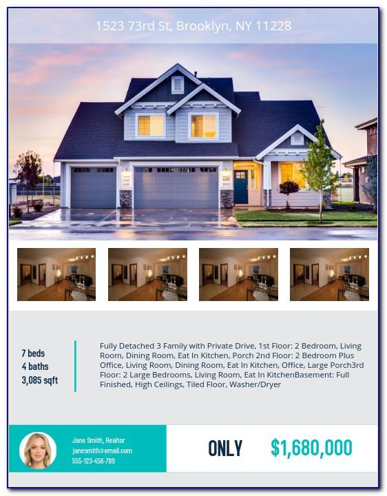 Real Estate Flyer Template For Mac Pages