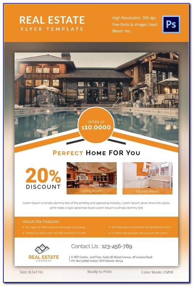 Real Estate Flyer Template Free Word