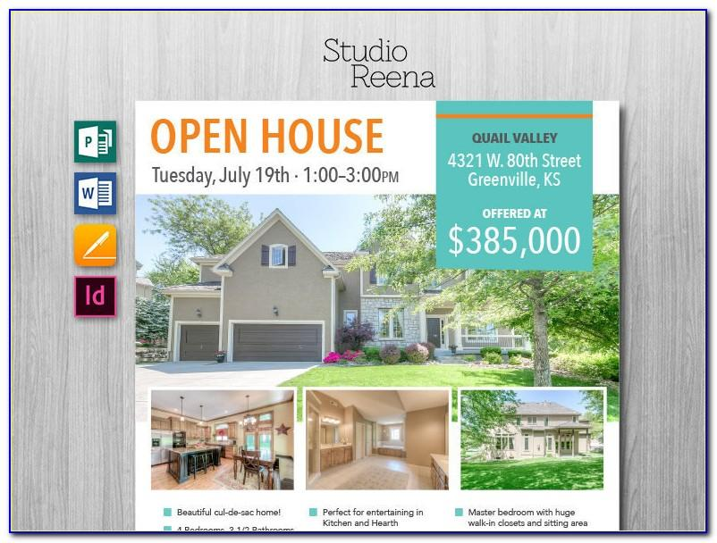 Real Estate Flyer Templates For Photoshop