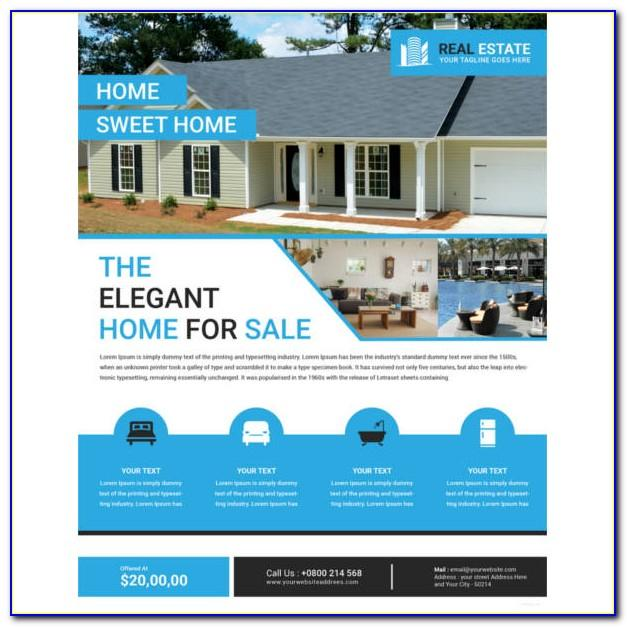 Real Estate For Sale Flyer Template