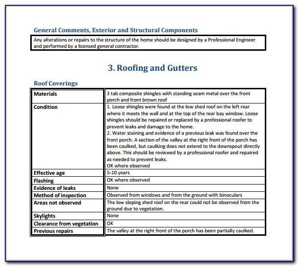 Rental Property Inspection Checklist Form