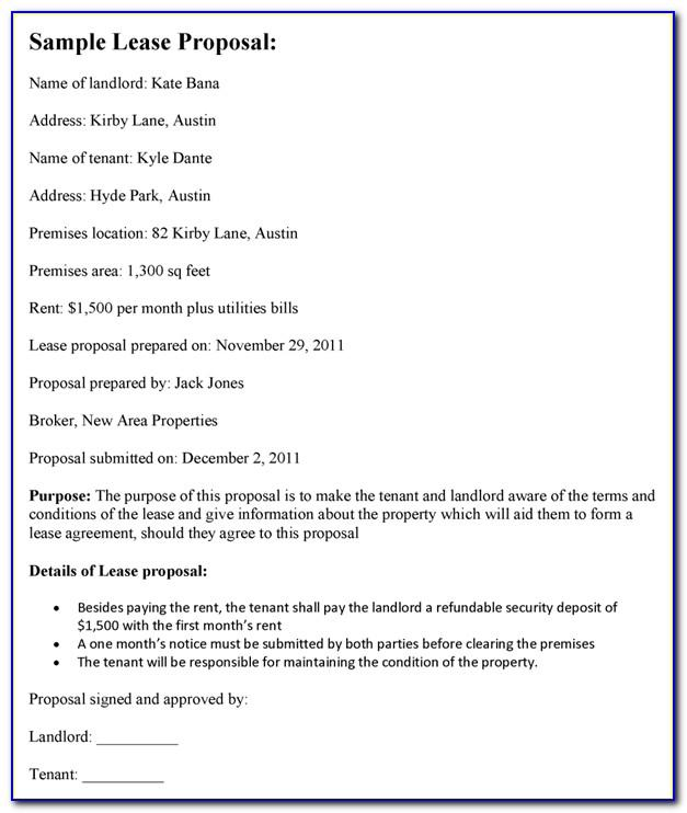 Texas Property Code Lease Agreement