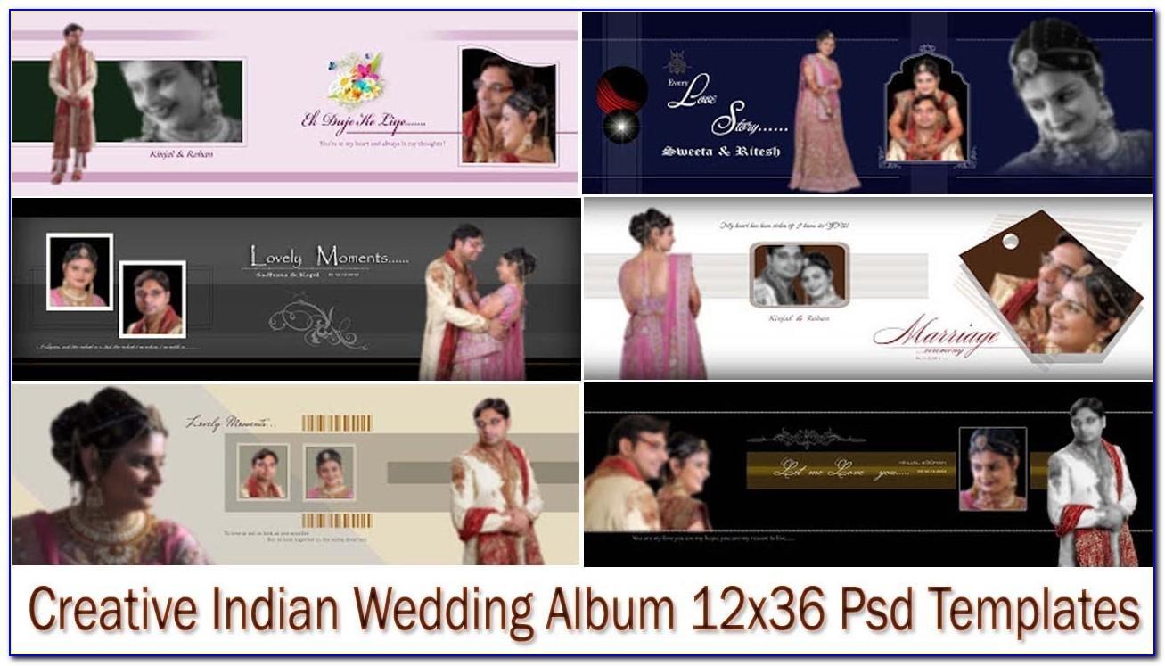 Wedding Album Template Psd Free Download