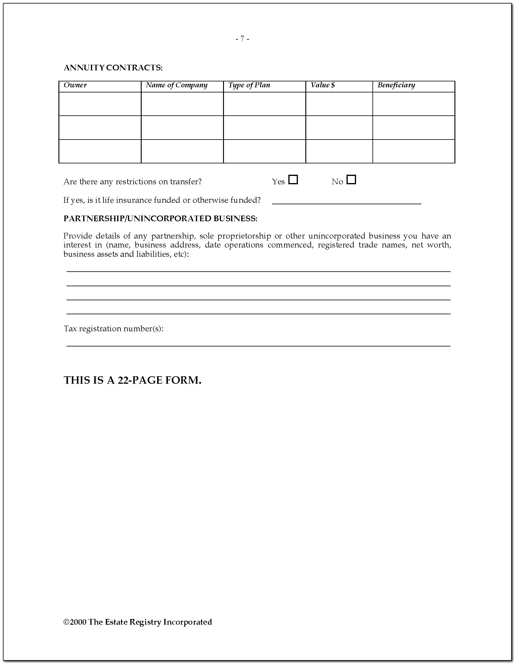 Wolfsberg Questionnaire Template Word Format