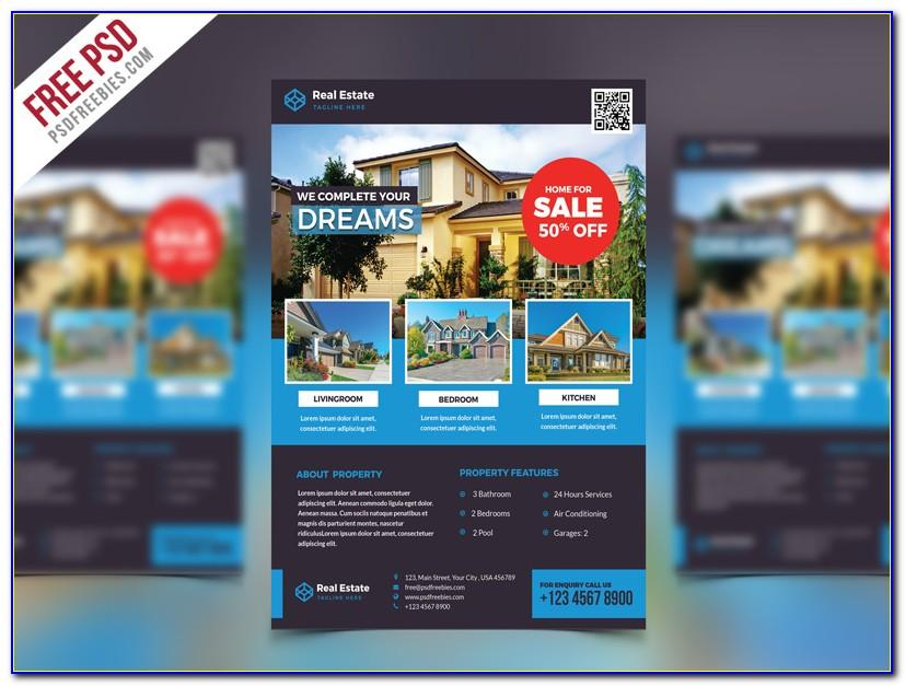 Word Doc Real Estate Flyer Template