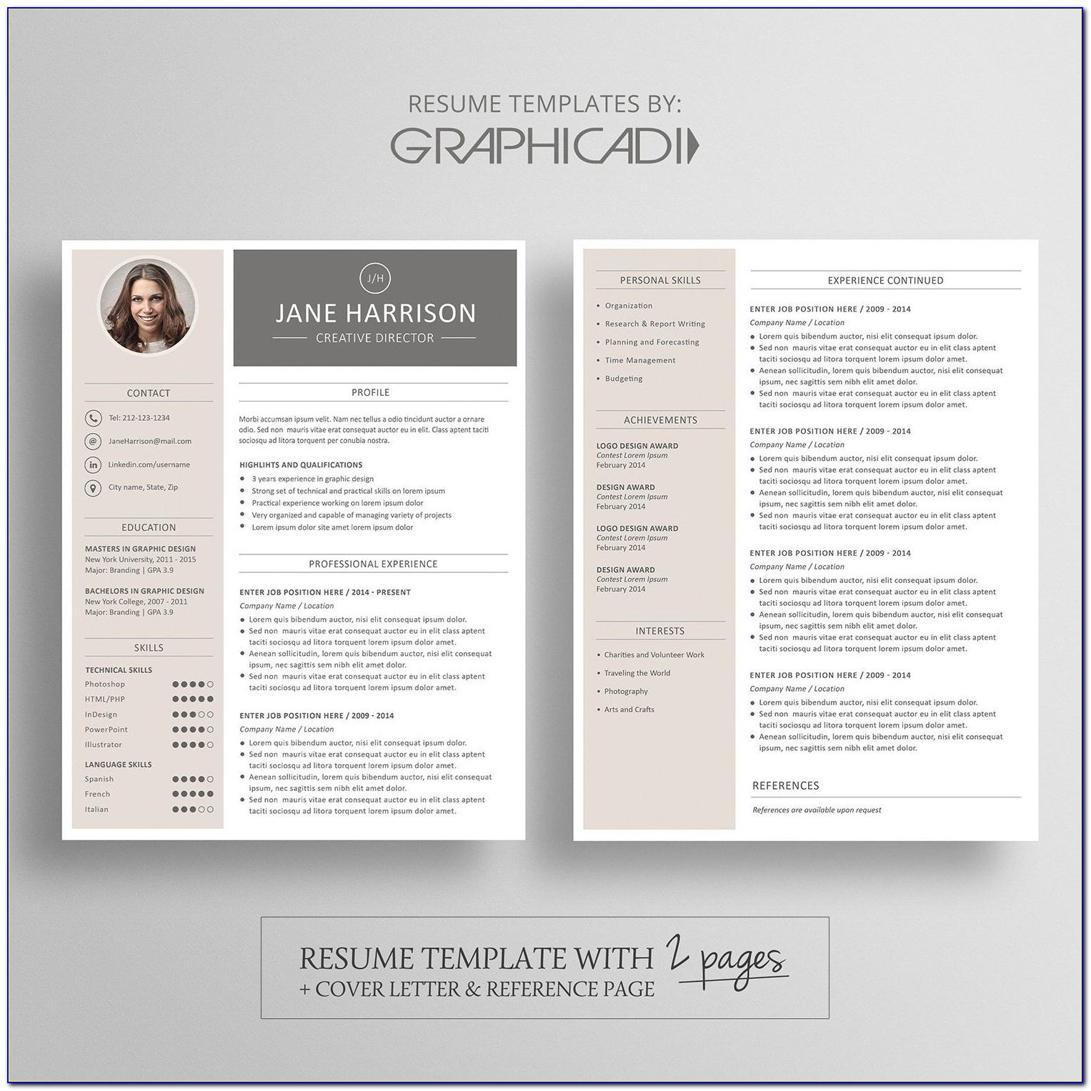 Apple Pages Resume Templates Free