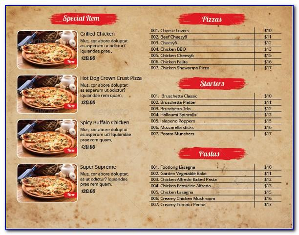 Business Plan Template For Pizza Franchise