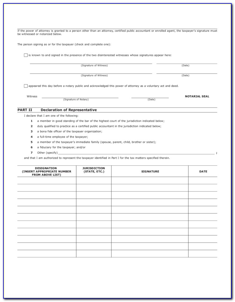 Child Care Power Of Attorney Form Virginia