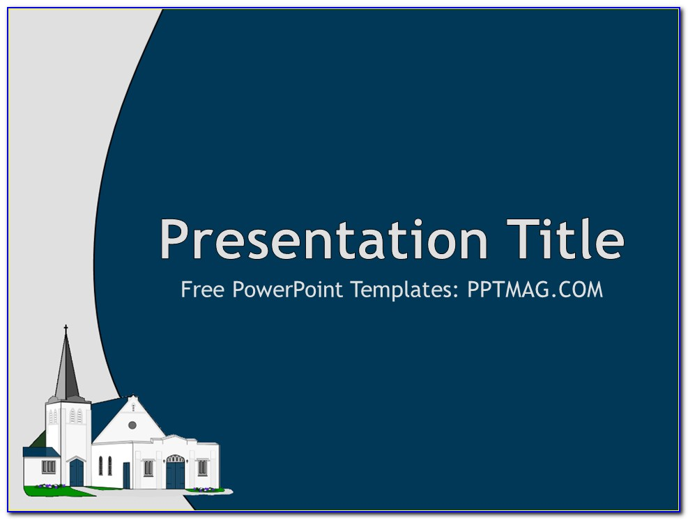 Church Building Powerpoint Templates Free Download