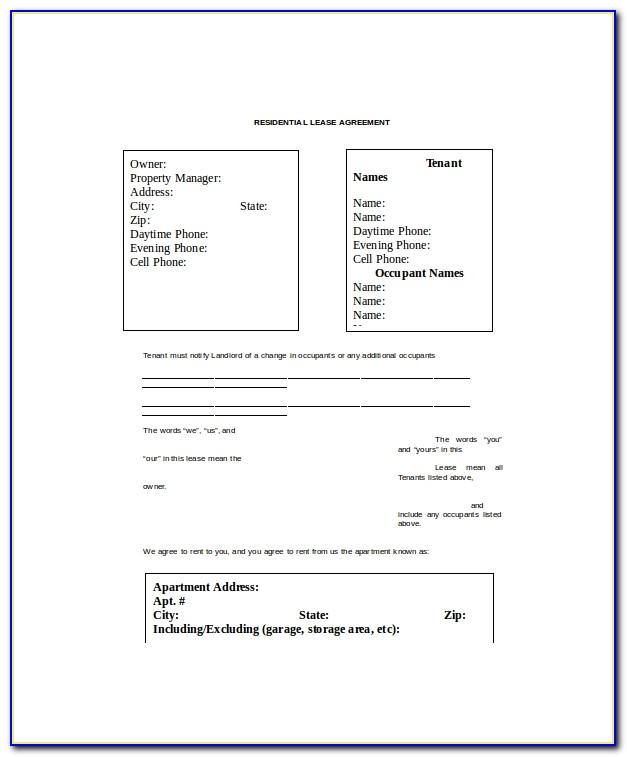 Commercial Office Lease Proposal Template