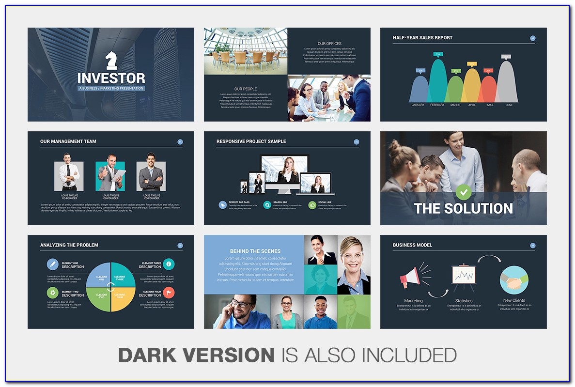 Creative Pitch Deck Powerpoint Template Download