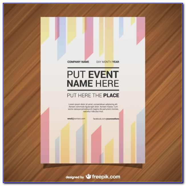Creative Poster Design Templates Free Download
