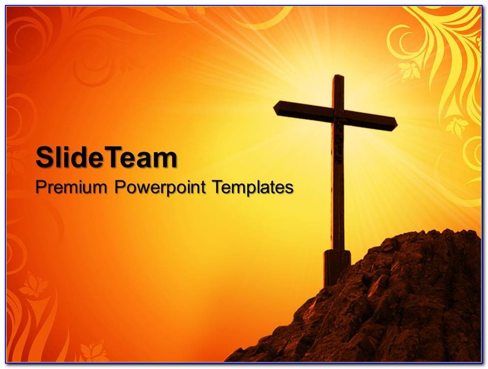 Easter Church Ppt Templates Free