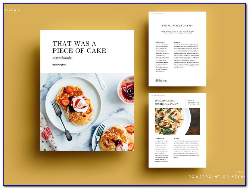 Ebook Concept Powerpoint Template Free