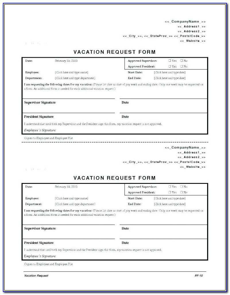 Employee Payroll Deduction Authorization Form Template