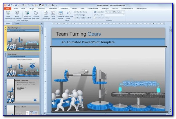 Free Animated Powerpoint Templates 2010