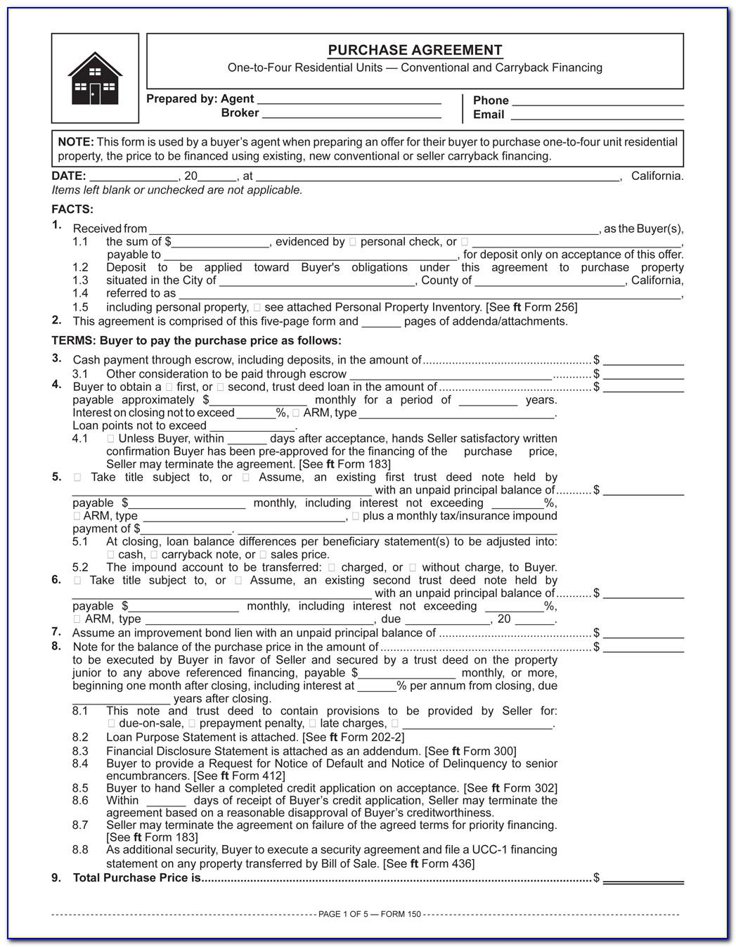 Free Car Owner Finance Contract Template