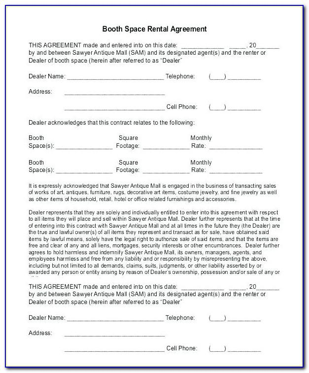 Free Office Lease Agreement Template Word