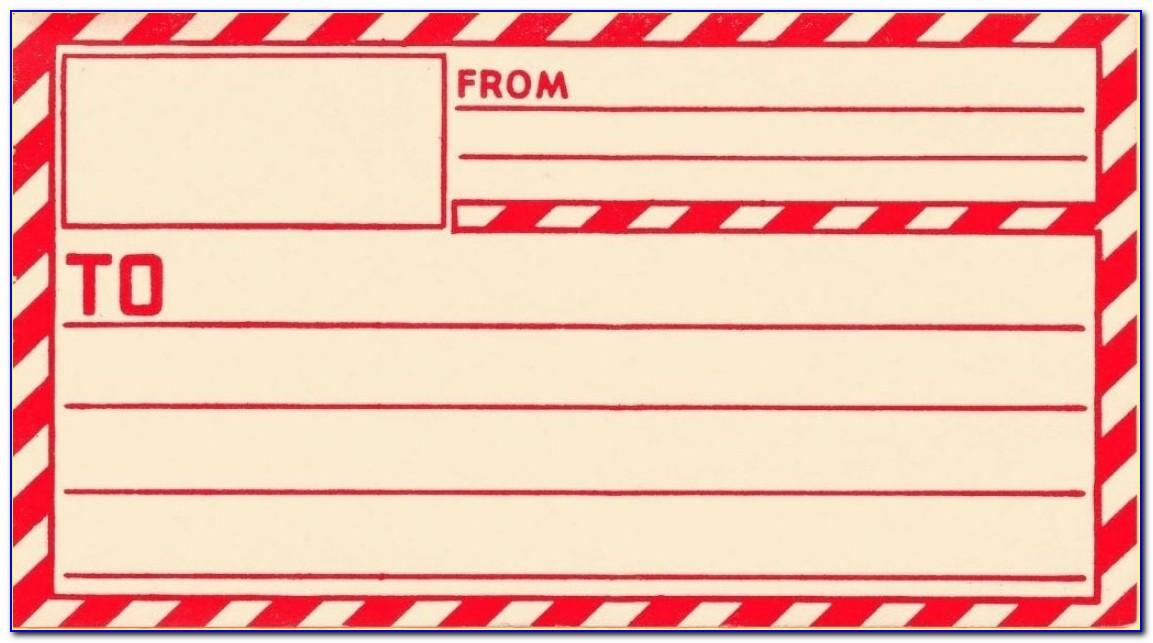 Free Online Address Labels Template