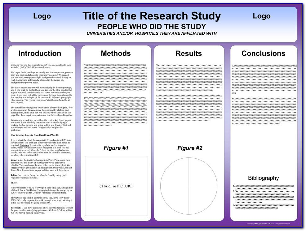 Free Online Scientific Poster Templates