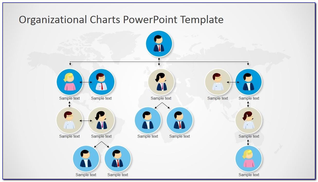 Free Organizational Chart Template Powerpoint 2010