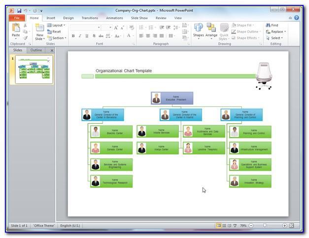 Free Organizational Charts Templates Online