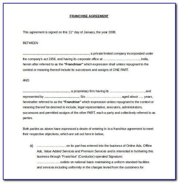 Free Postnuptial Agreement Template Canada