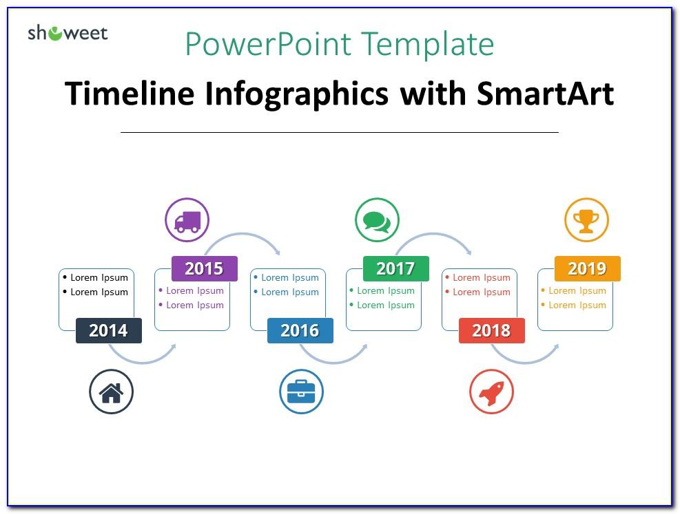Free Powerpoint Smartart Process Templates