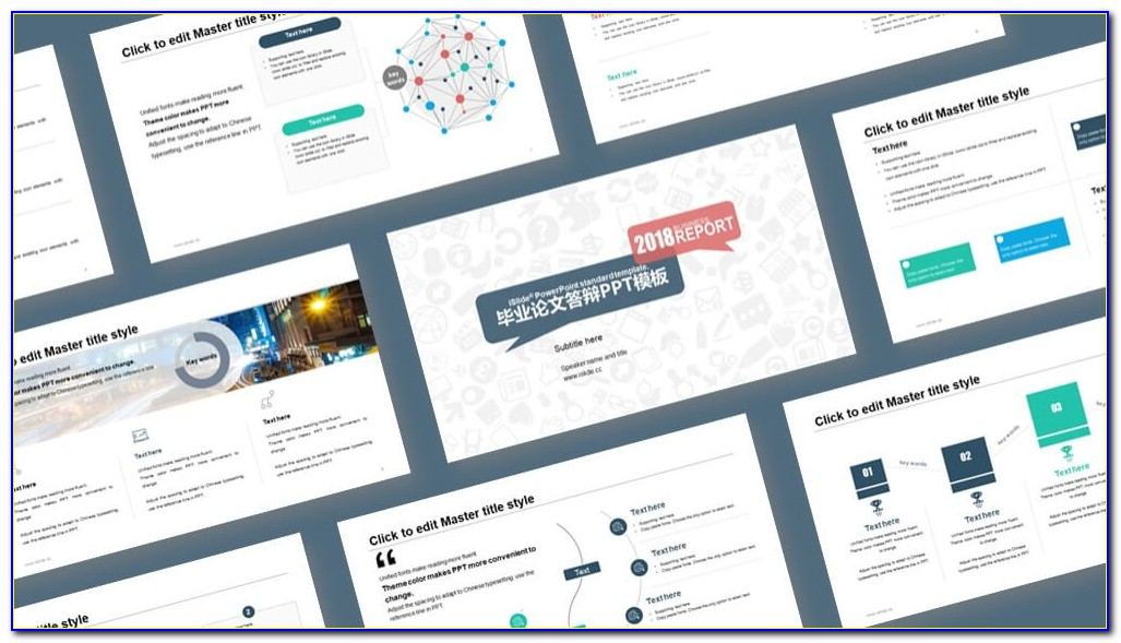 Free Powerpoint Templates For Thesis Defense