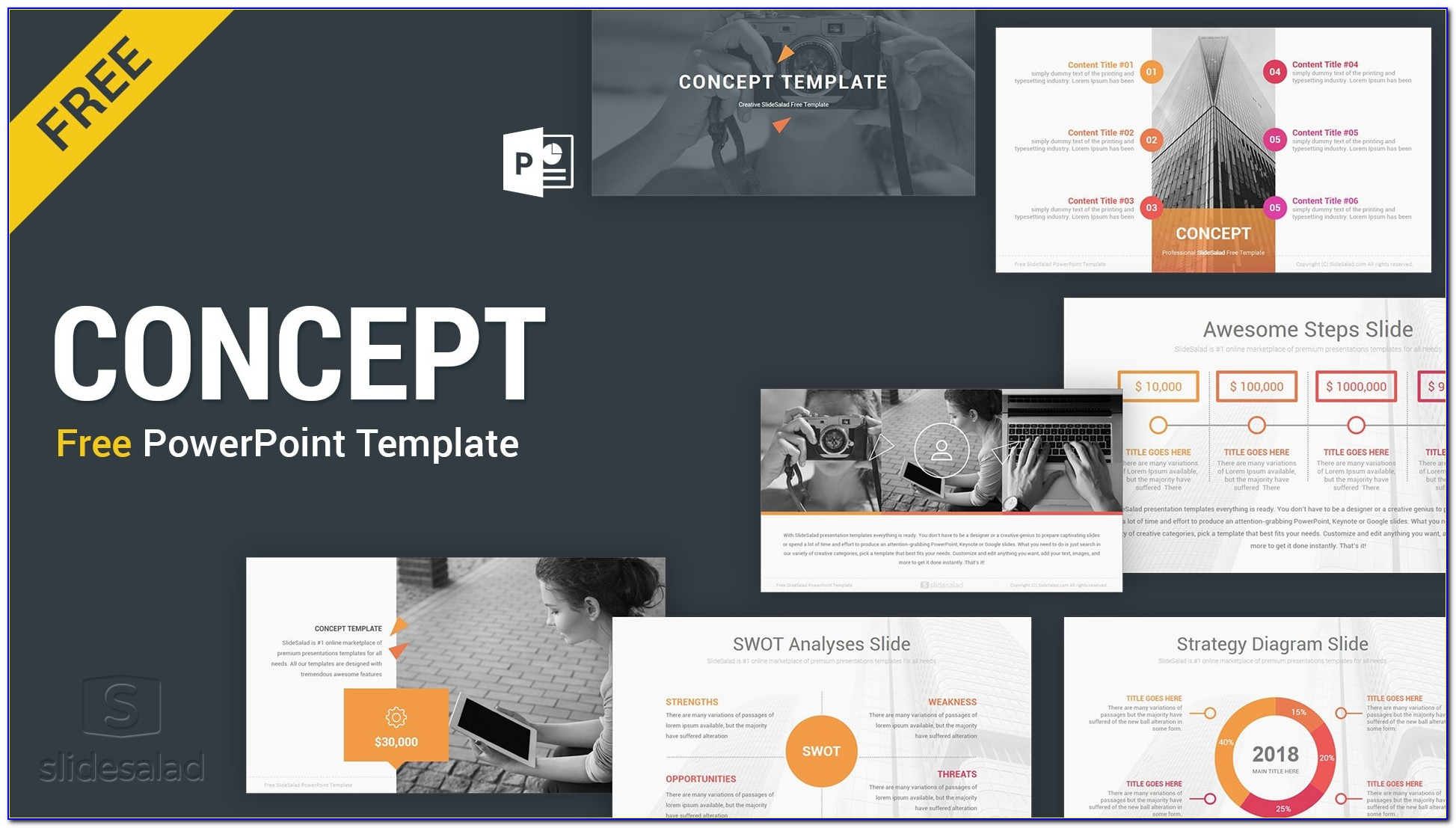 Free Professional Powerpoint Slide Templates