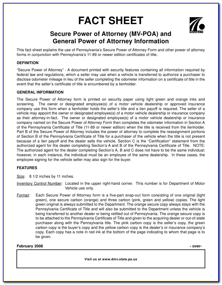 Health Care Power Of Attorney Form Virginia
