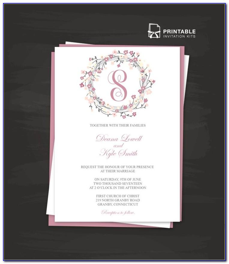 Indian Wedding Invitation Templates Pinterest