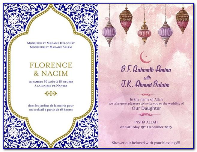 Muslim Wedding Invitation Video Maker Online Free