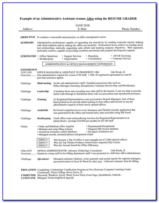 Nanny Personal Assistant Resume Sample