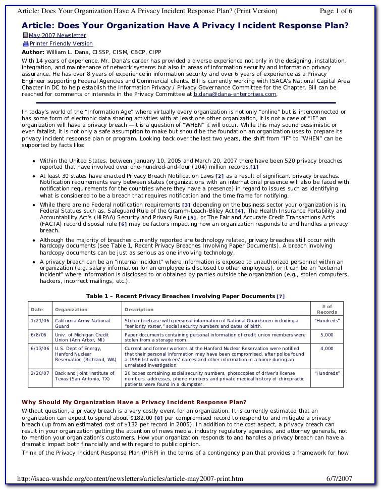 Nist Cybersecurity Risk Assessment Template