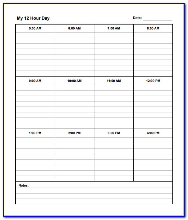 Nursing Work Plan Template