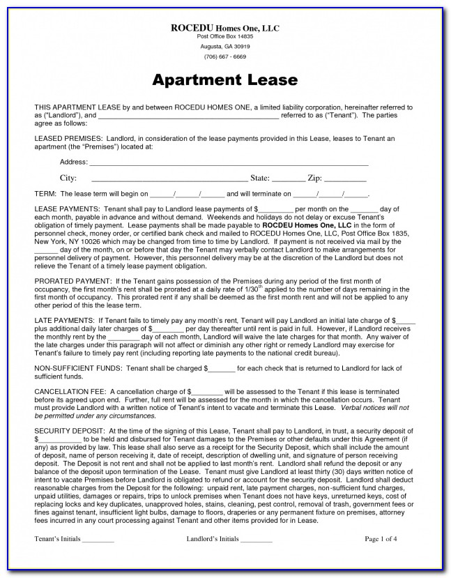 Occupancy Agreement Act Template