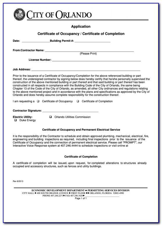 Occupancy Agreement Scotland Template