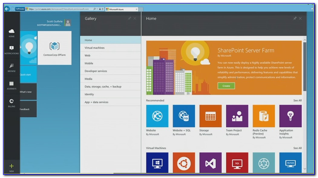 Office 365 Sharepoint Template Selection