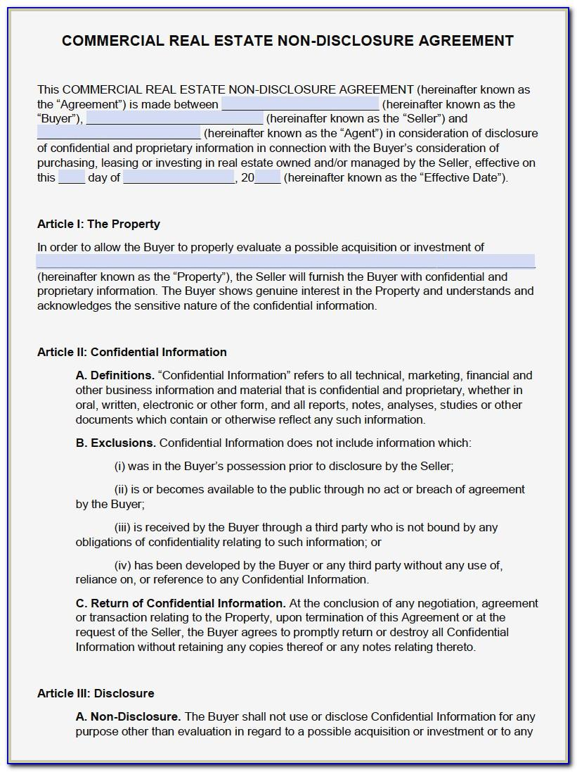 Ohio Commercial Real Estate Purchase Agreement Form