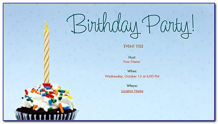 Online 60th Birthday Invitation Templates