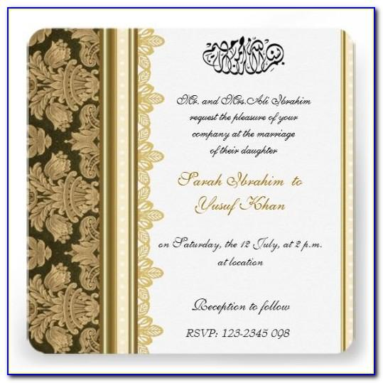 Online Muslim Wedding Invitation Maker