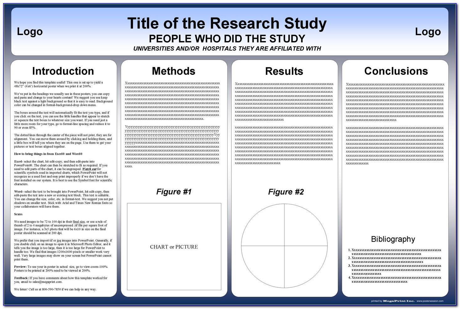 Online Scientific Poster Template