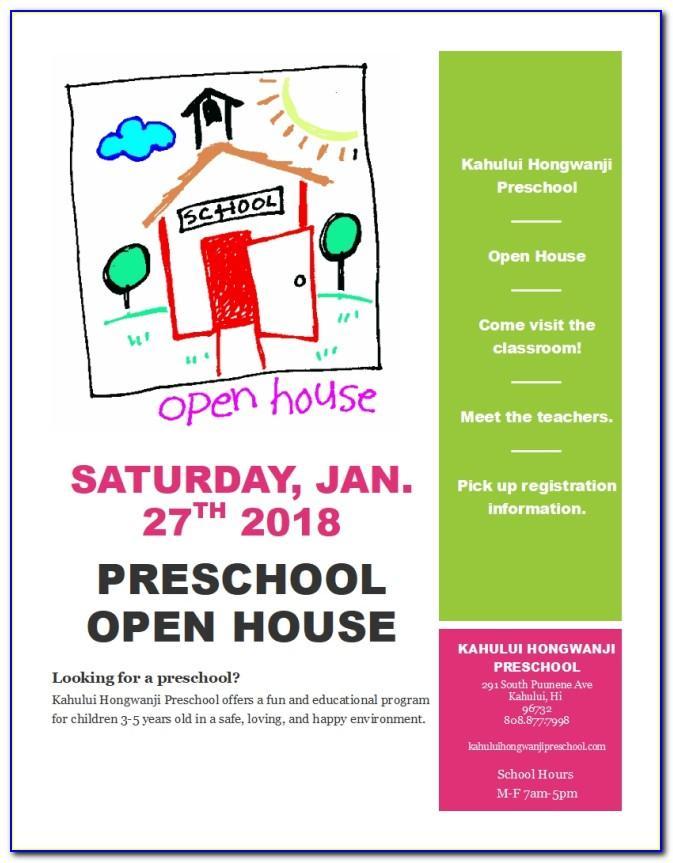 Open Enrollment 2019 Flyer Template