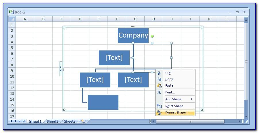 Org Chart Template Ppt