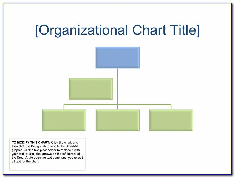 Organization Chart Powerpoint Template Free Download