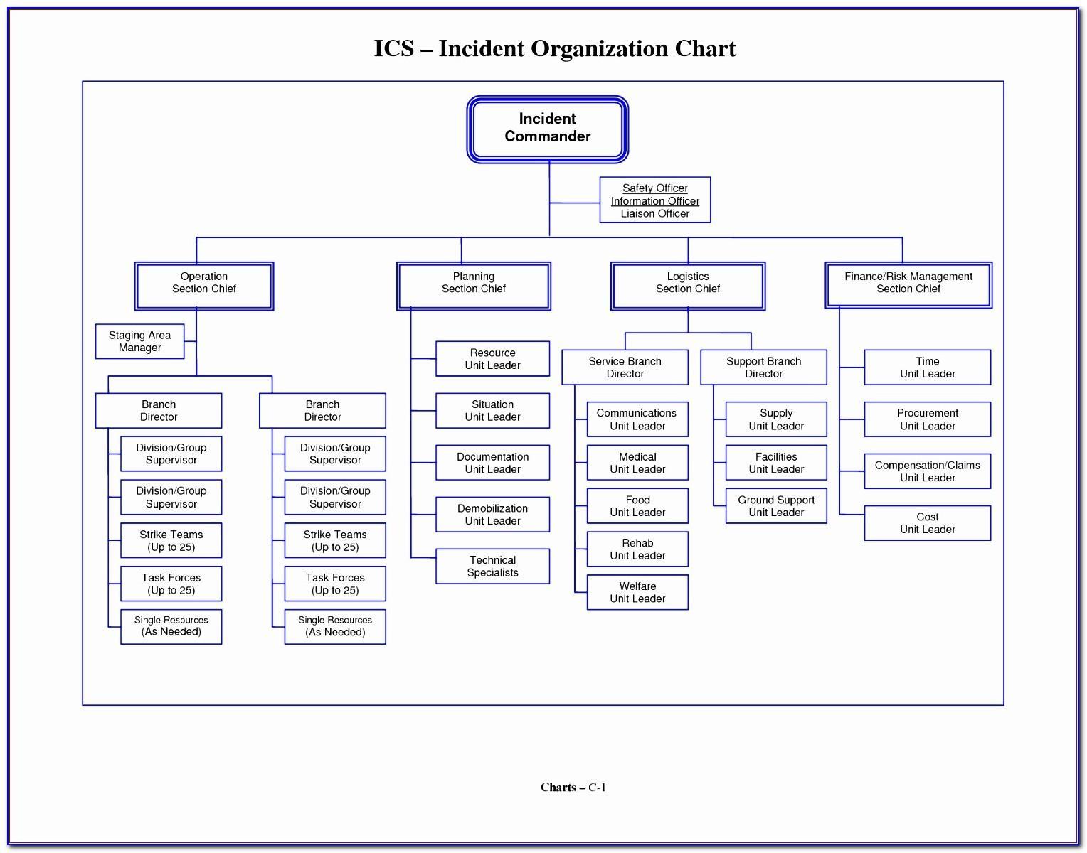 Organization Chart Template Ppt